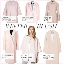 Winter Blush 15 Pale Pink Coats Polyvore
