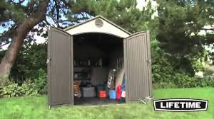 Suncast Tremont Shed Assembly by Lifetime 6405 Lifetime 8x10 Storage Shed Epic Shed Reviews Youtube