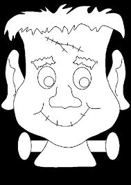Halloween Frankenstein Coloring Pages Printables Monster