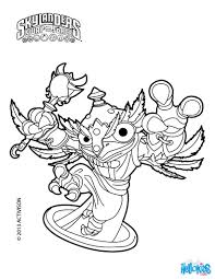 Hoot Loop Coloring Page Color Online This And Send It To Your Friends Skylanders Swap Force