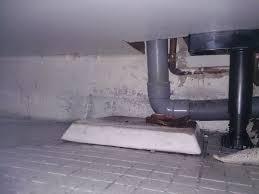 fuite tuyau évacuation lave linge et évier bouché