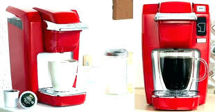 Red Keurig Coffee Makers Maker Instructions