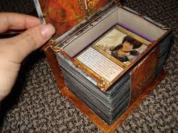 magic edh deck box custom spell book deck box version 2 artwork creativity
