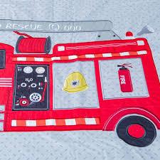 100 Kids Fire Truck Bed Fire Truck Bedding