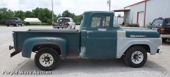 1960 Ford F100 Pickup Truck | Item BI9539 | SOLD! June 13 Ve... 1960 Ford F100 Pickup Truck For Sale 516 Youtube Black F250 Flatbed Classic For Sale 68 Ford 4x4 F100ours Was A 34 Ton F250 Pickup Trucks Wrecker Sold Trucks Sale Bigmatruckscom Custom Cab 76016 Mcg Las Vegas Modest Information And Photos Momentcar 1961 F750 Marmherrington Dump Truck Rare Does Flickr Reliable Hauler 1959 F 800 Super Duty Vintage Truck