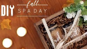 DIY Fall Spa Day