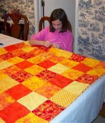 Kids can make a pieced quilt learn how to make an easy pieced