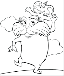 Dr Seuss Coloring Pages Thing 1 And 2 Great Sheets Pdf Full Size