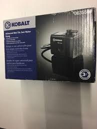 Kobalt Tile Saw Manual by Tile Wet Saw Kobalt 100 Kobalt Wet Tile Saw User Manual Kobalt 4