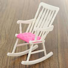 US $1.8 |1 Pcs Mini Doll Rocking Chair Accessories For Doll House Room  Dollhouse Decoration Rocker Toys Children Kid Girls Toy-in Dolls  Accessories ...