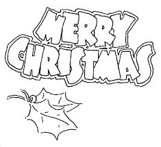 Merry Christmas Printable Coloring Pages 06