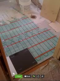 impressive electric floor heating heated tile for bathroom