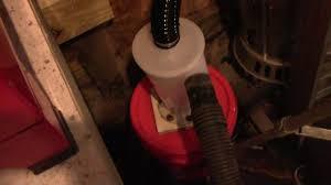 Diy Sandblast Cabinet Vacuum by Sandblasting Cabinet Vacuum System Part 3 Youtube