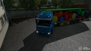 100 Truck And Trailer Games MMs Trailer Cooliner Mod By BarbootX For Euro Simulator 2
