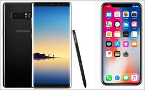iPhone X vs Samsung Galaxy Note 8 A battle for smartphone dominance