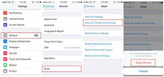 3 Step by Step Simple Guide to Factory Reset iPhone without