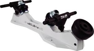 100 Roller Skate Trucks SureGrip Avenger White Magnesium Plate With DA45