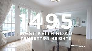 100 Keith Baker Homes For Sale 1495 West Road North Vancouver YouTube