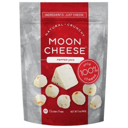 Moon Cheese Crunchy Pepper Jack Snack - 2oz, 2pk