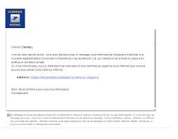 adheslon phishing la banque postale scam