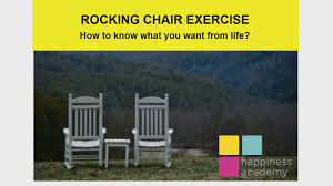 100 Rocking Chair Exercise How To Know What You Want From Life Chair Exercise YouTube