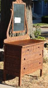 tiger oak dresser with mirror 150 craigslist crushes
