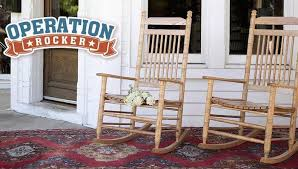 After donating over 700 of Cracker Barrel s iconic rockers last year Cracker Barrel and Operation Homefront team up again to furnish the front porches of