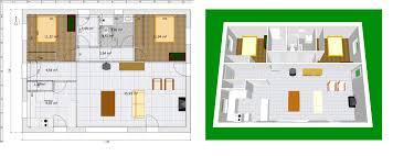 plan de maison 2 chambres luxe plan de maison plain pied 2 chambres ravizh com
