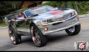 100 Convertible Chevy Truck King Of Bling Camaro SS Car Tuning