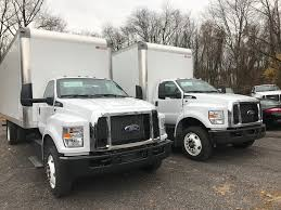 100 Ford 650 Truck NEW 2019 FORD F GAS BOX VAN TRUCK FOR SALE 10565