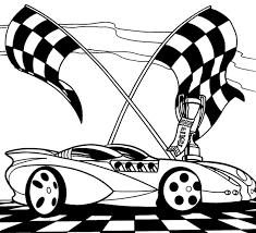 Race Car Coloring Sheet Free Sheets