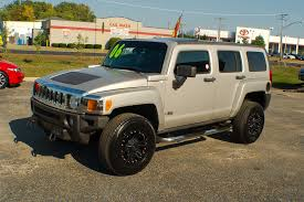 100 Hummer H3 Truck For Sale 2006 Pewter 4x4 SUV Used Car