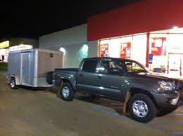 100 Uhaul Truck Mpg 4 Cylinder 3000 Miles With An Enclosed 6x10 Trailer Tacoma World