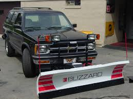 100 Truck With Snow Plow Blizzard 720LT SUV Small Personal 72