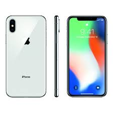 Straight Talk Apple iPhone X with 64GB Prepaid Smartphone Silver