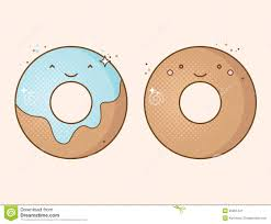 Drawn Dougnut Cute 8