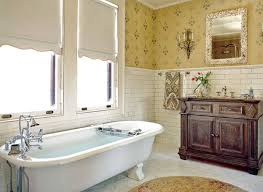 best creative subway tile wainscoting bathroom 10 25859