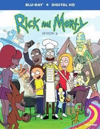 Rick And Morty Season 2 Blu Ray