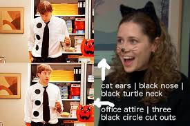 Jim And Pam Halloween by 10 Ways To Stay Warm This Halloweekend