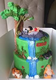 Cake Decorating Books Online by Jungle Book Birthday Cake Kids Birthday Cakes Pinterest