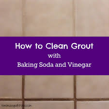 marvelous how to clean tile grout with vinegar and baking soda 23
