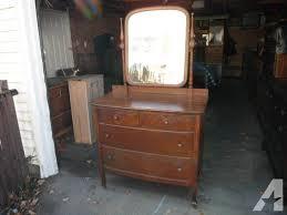 furniture marvelous english antique dresser with beveled mirror
