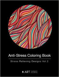 Anti Stress Coloring Book Relieving Designs Vol 2 Volume