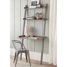 Crate And Barrel Leaning Desk by Leaning Desk With Shelves Rooms