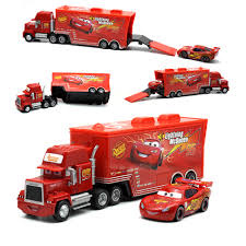 Disney Pixar Cars 2 Toys 2pcs Lightning McQueen Mack Truck The King ... Blue Dinoco Mack The Truck Disney Cars Lightning Mcqueen Spiderman Cake Transporter Playset Color Change New Hauler Car Wash Pixar 3 With Mcqueen Trailer Holds 2 Truck In Sutton Ldon Gumtree Lego Bauanleitung Auto Beste Mega Bloks And Launching 95 Ebay Toys Hd Wallpaper Background Images Remote Control Dan The Fan Cone