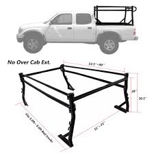 AA-Racks X35 Truck Rack With /(8/) Non-Drilling C-Clamps For Toyota ...