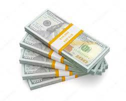 Stack of new 100 US dollars — Stock © DmitryRukhlenko