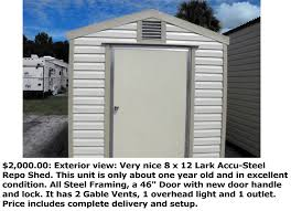 Teds Sheds Cocoa Florida by You Can Find Great Deals On Used Sheds At Shedmovers 0 Down Free