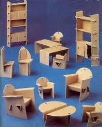 To Make Cardboard Dollhouse Furniture