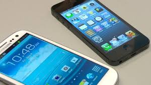 iPhone 5 vs Android smart phones